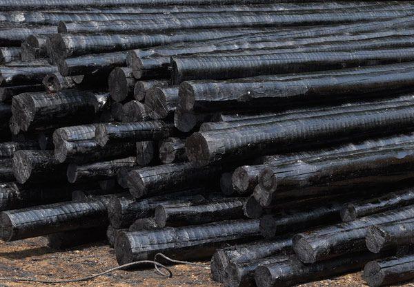 优质防腐木杆天泽公司生产防腐电杆